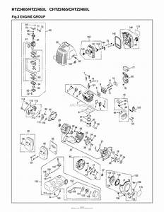 Red Max Chtz2460-06  10 Parts Diagram For 003