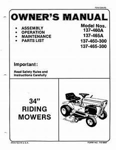 Bolens Lawn Mower 137