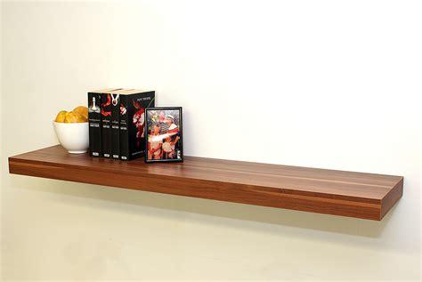 Walnut Floating Shelf Kit 1150x250x50mm Mastershelf