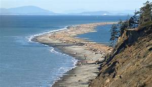 Dungeness Sea Spit North Of Olympic National Park