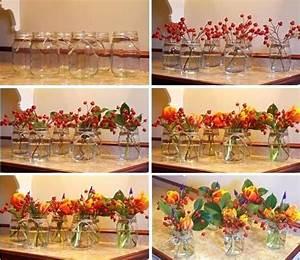 Tischdeko Selber Machen Herbst : herbst tischdeko herbst 70 geburtstag herbst in der vase herbstdeko basteln selber machen ideen ~ Orissabook.com Haus und Dekorationen