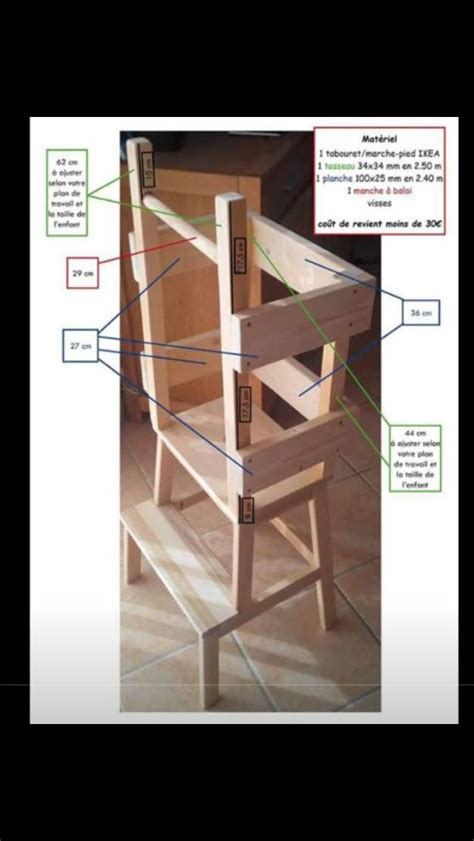 bureau en pin fly detournement meuble ikea