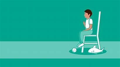 Mindfulness Fun Exercises Health Shark Children Animation