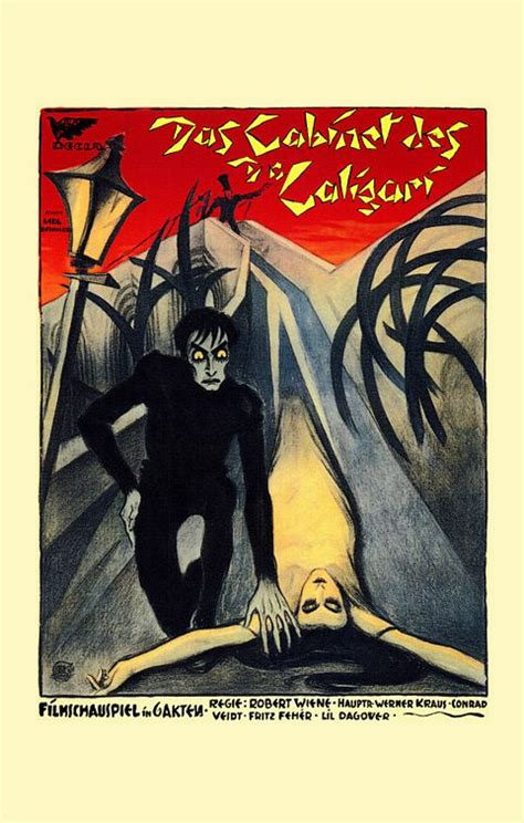 the cabinet of dr caligari movie poster 2 of 3 imp
