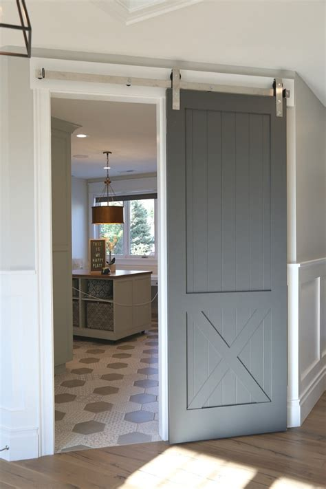 Interior Barn Doors For Homes by Choosing Interior Door Styles And Paint Colors Trends