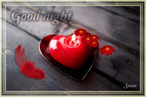 good night heart images  wallpapers
