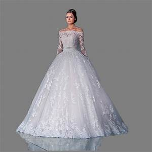 Vintage lace wedding dresses 2017 long sleeve ball gowns for Aliexpress wedding dresses 2017