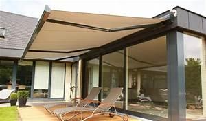 Store Banne Terrasse : store banne store avec capteur de vent brustor ~ Edinachiropracticcenter.com Idées de Décoration