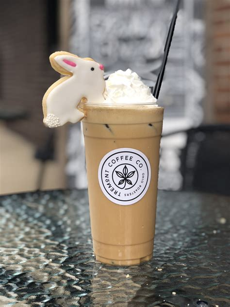 """Jason lamp opened tremont creamery in late april at 225 erie st. Tremont Coffee Co's drink """"The Sugar Sugar Cookie featuring a local- handmade seasonal sugar ..."""