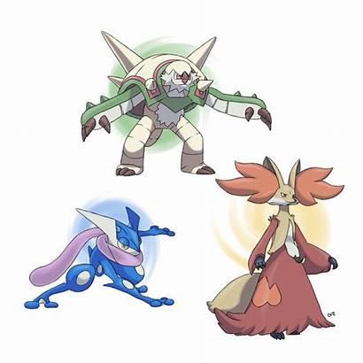 Evolutions Pokemon Starters Final Code Mega Deviantart