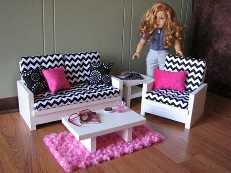 American Doll Living Room Plans by 21 Best Images About American Sitting Area On