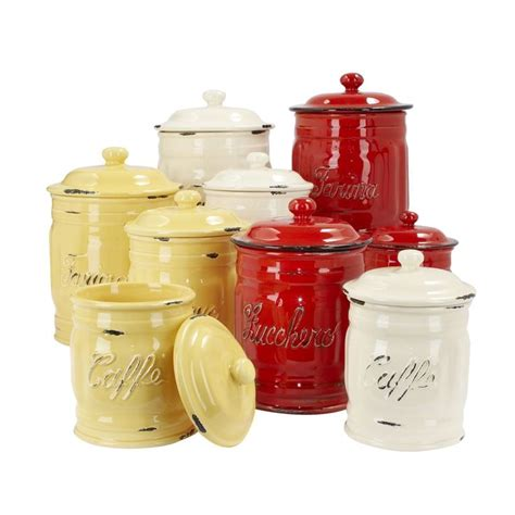 beautiful kitchen canisters 66 best canisters images on cooking ware