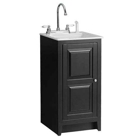 small utility sink with cabinet 49 laundry sink cabinets oak finish utility sink laundry