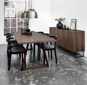 Contemporary, Dining, Table, -, 106, -, Skovby, Walnut, Laminate