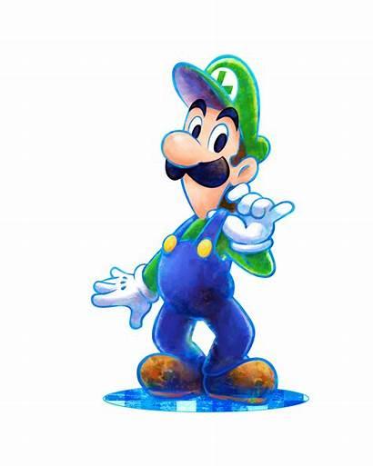 Luigi Mario Dream Team Artwork Games Bros