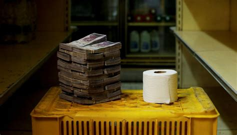 In Venezuela Its Cheaper To Use Cash Than Toilet Paper
