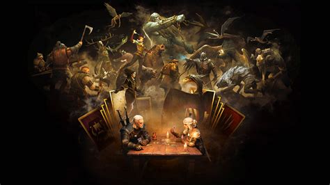 gwent  witcher card game hd games  wallpapers