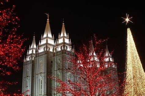 panoramio photo of temple square christmas lights