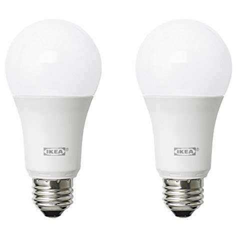 ikea ryet led bulbs e26 a19 2700k warm soft white pack