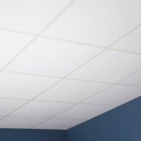 Genesis Ceiling Tiles Home Depot by Genesis Smooth Pro White 2 X 2 Ft Lay In Ceiling Tile