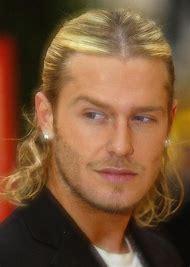 Long Blonde Hair Ponytail Men