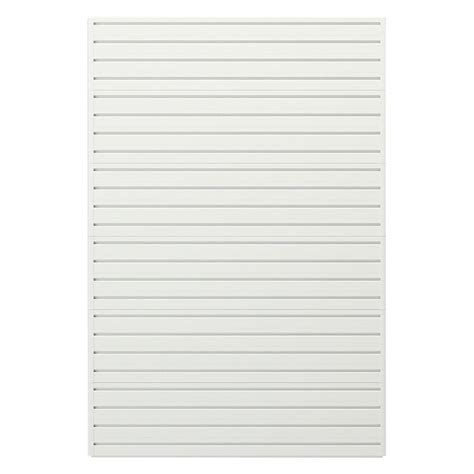 Garage Wall Systems by Flow Wall Modular Garage Wall Storage Panels In White Fws