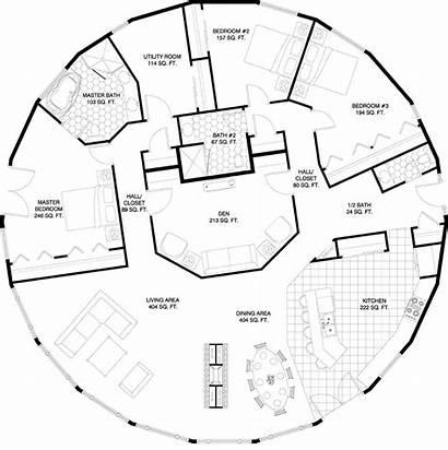 Round Homes Plans Deltec Floorplan Plan Designs