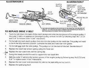 Greenfield E2000 - Drive Belt