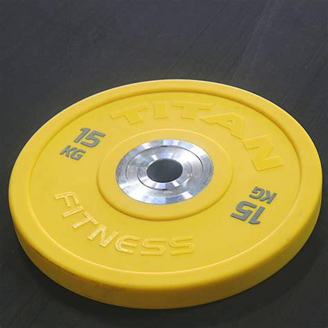 kg single color urethane bumper plate