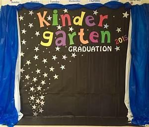 Kindergarten Graduation Backdrop   Door/Wall Decoration ...