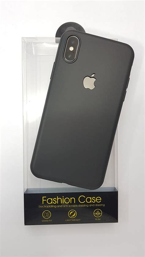 jual case iphone xs xrxs max slim silicone apple
