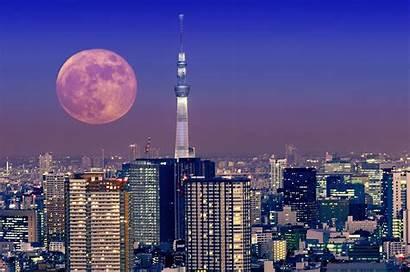 Tokyo Moon Japan Pc Architecture