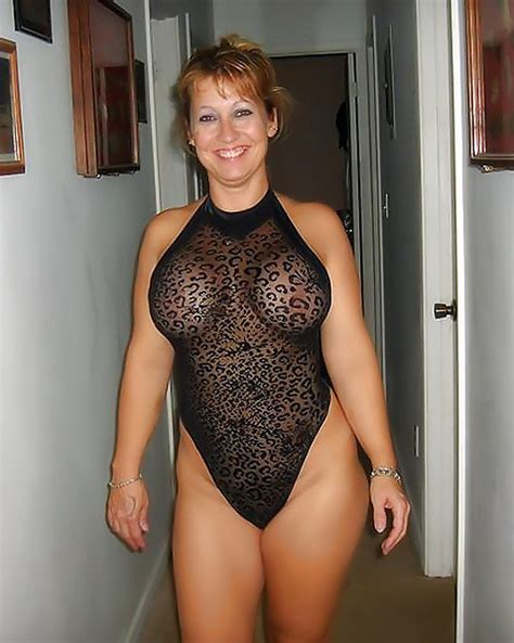 Busty Milf See Through Lingerie
