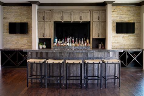 canal place rustic home bar indianapolis  mb