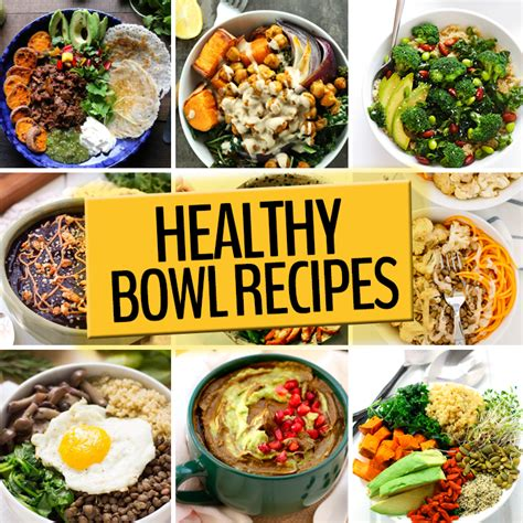 bowl receipes healthy bowl recipes the healthy maven