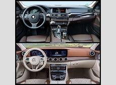 Image Comparison MercedesBenz E Class Estate vs BMW 5