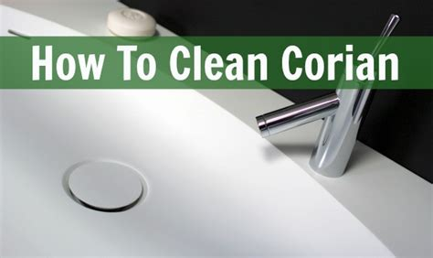 Corian Sink Stain by How To Clean Corian Home Ec 101