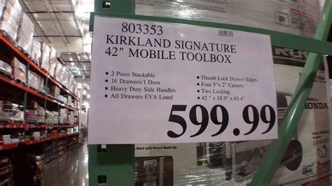 fresh arival tool boxes  costco youtube