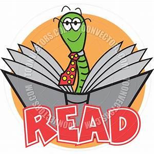 Cartoon Bookworm Vector | Clipart Panda - Free Clipart Images