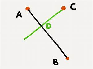 geometry - Perpendicular line that crosses specific point ...