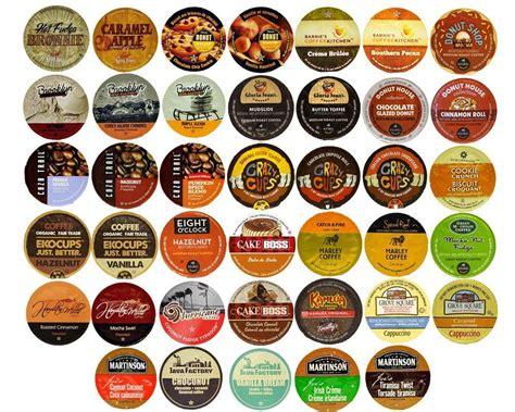 flavored coffee variety sampler pack  keurig  cup