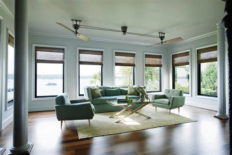 fan for room cool ceiling fans living room tropical with beige curtains