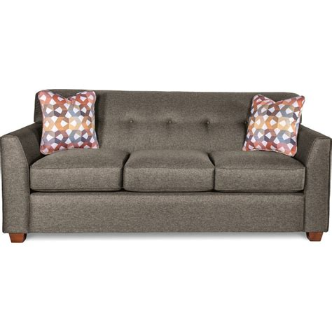 Tufted Apartment Sofa by La Z Boy Dixie Contemporary Tufted Apartment Sofa With