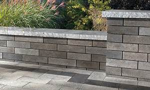 Durahold Retaining Wall by Walls Unilock Commercial