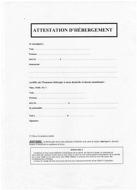 attestation permis de conduire t 233 l 233 charger modele attestation hebergement pour permis de conduire