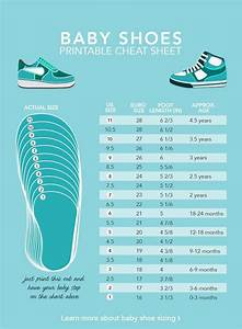 Baby Shoe Sizes What You Need To Know Shoe Size Chart