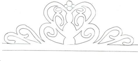gumpaste tiara template cakes pinterest cake