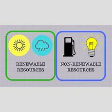 Difference Between Renewable And Nonrenewable Resources