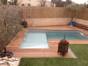 votre piscine semi enterree avec terrasse bois With dependance d une maison 11 piscine traditionnelle piscine polyester piscine beton