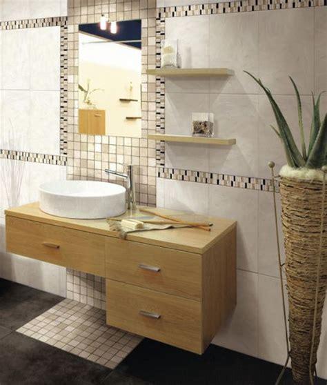 frise salle de bain mosaique